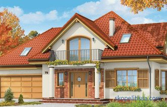 Projects of houses up to 150 m and projects of cottages up to 150 sq. M. m in Russia