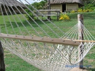 Hammock double: types and features