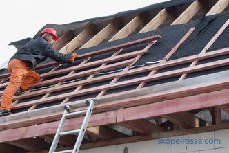 Roofing work - price list. The cost and cost of repairing the roof and roof