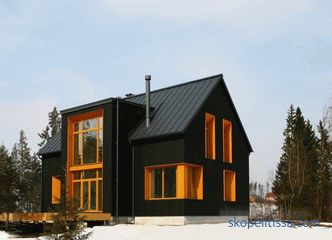 Frame houses on the Scandinavian technology - projects and construction