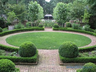 Regular style in landscape design history of creation and basic principles of construction