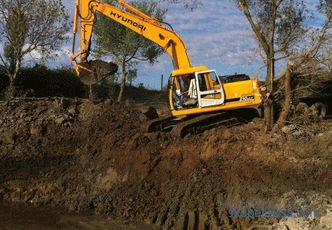 Dig a pond at the site price of work, how much does it cost to build a pond in the country, dig a pond at the site