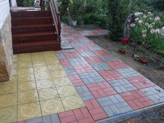 Curbstone in the landscaping of the backyard territory, the choice of material and installation rules