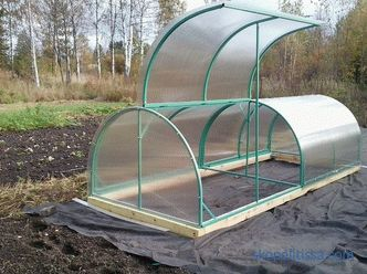 Greenhouses and greenhouses for summer cottage: characteristics: dimensions, prices in Moscow