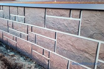 what material is better for finishing the foundation outside, how to sheathe