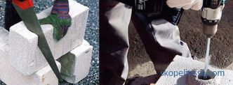 Foam blocks - composition, weight and dimensions, prices for a piece, pros and cons