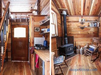 House of cabins - how to organize, examples and photos