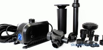 fountain structure parts, pumps and filtration system