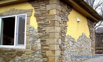 Decorating the house with a facade stone, facing the facade of a country house, installation stages, prices in Moscow