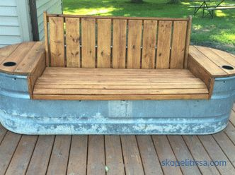 Ideas for organizing seats at your cottage
