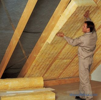 Insulation for the roof: types, specifications, price