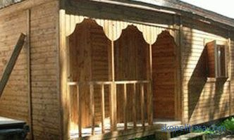 Cottages for country houses - to buy a change house for giving wooden cheap