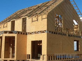pros and cons of frame construction technology, features, photos