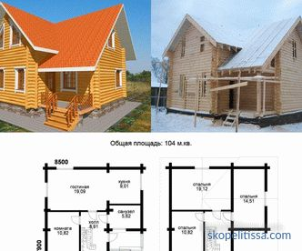 Online calculator calculating building materials for home construction
