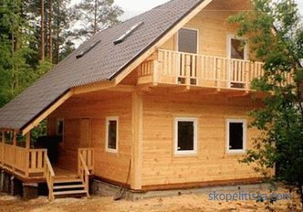 Projects of houses from timber 6 by 9: options, materials, construction