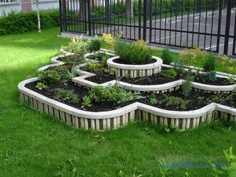 Flower garden at the house is limited only by the owner's imagination, but what should be adhered to in the design of flower beds