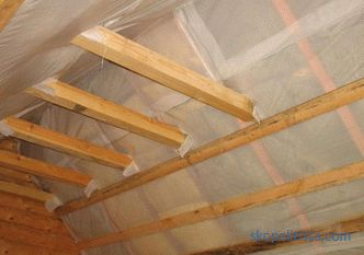 Vapor barrier for the roof: which side and how to properly lay