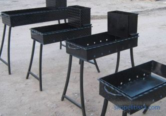 Braziers for cottages - buy cheap in Moscow, forged braziers for cottages
