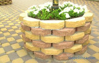 Brick beds: functions and varieties
