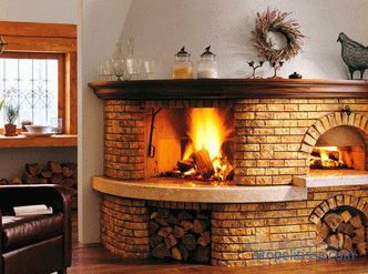 Furnace for heating a house with water heating, wood burning, installation, advantages, photos