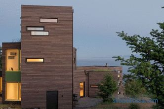 Bailer Hill house project on the mountainside from the architectural company Prentiss + Balance + Wickline