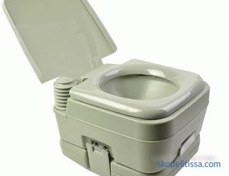 Peat dry closets for giving cheap, a peat toilet for giving to choose and buy in Moscow