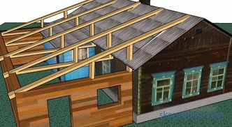 The roof over the terrace - types, technical and operational features, installation nuances