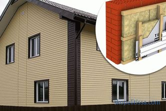 How to choose a siding under the log: price, types, differences