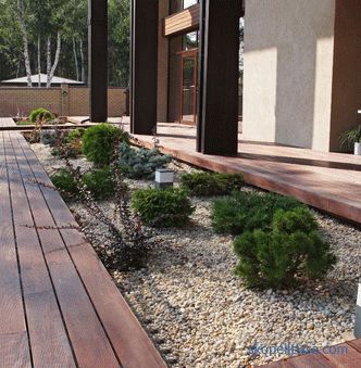 Garden in the style of minimalism, the principles and ideas of creating a minimalist landscape, photo stylish solutions