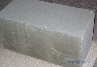 Foundation concrete block 200x200x400, characteristics of the FBS block for the foundation, application, prices in Moscow