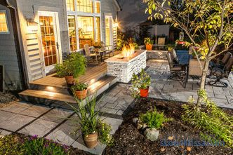 Garden lights in landscape design, types, characteristics, nuances of choice