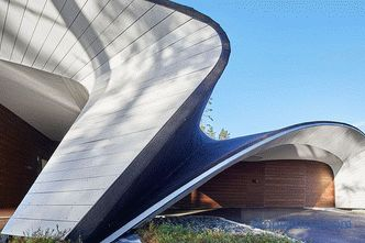 House-wave shapes in Finland are taken from the contours of airplanes and ships