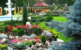 development of landscape design project, examples, photos, prices in Moscow