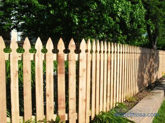 Wooden fence - main types