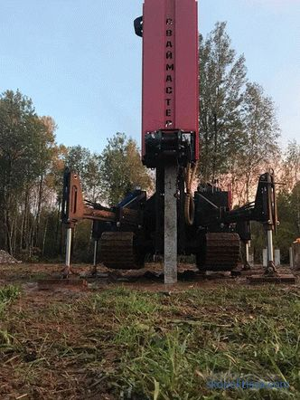 Reinforced concrete driving piles - features of production, selection and use