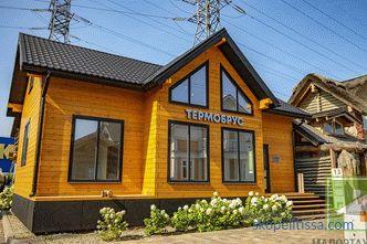 Work on the interior decoration of the exhibition house construction company Angarsk House