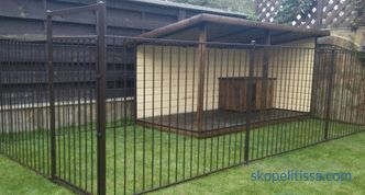 Sheepdog enclosure - the correct size and installation method