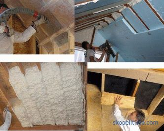 what is better to buy in Moscow, types of insulation for the roof