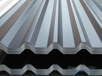 types of metal profiles and methods of its installation