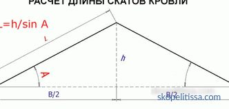 Calculator calculating timber for building a house: step by step instructions