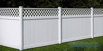 Fence to give - tips, photos and video examples