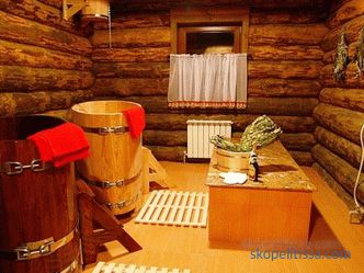 projects of wooden baths from a log house, photos, prices for construction in Moscow